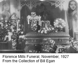 Florence Mills Funeral November 1927 Rdc