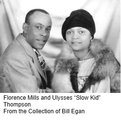 Florence Mills and Ulysses Slow Kid Thompson Rdc